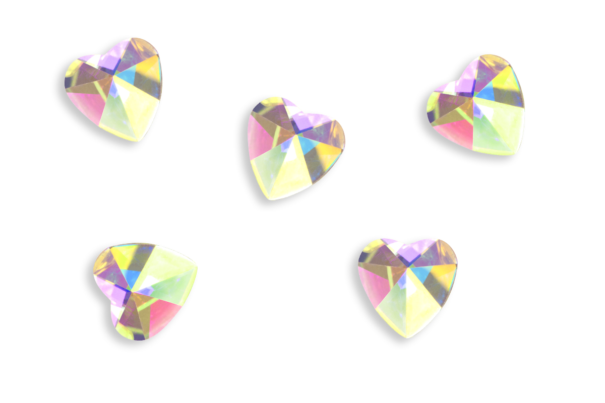 Jolifin LAVENI Strass-Diamonds - Heart