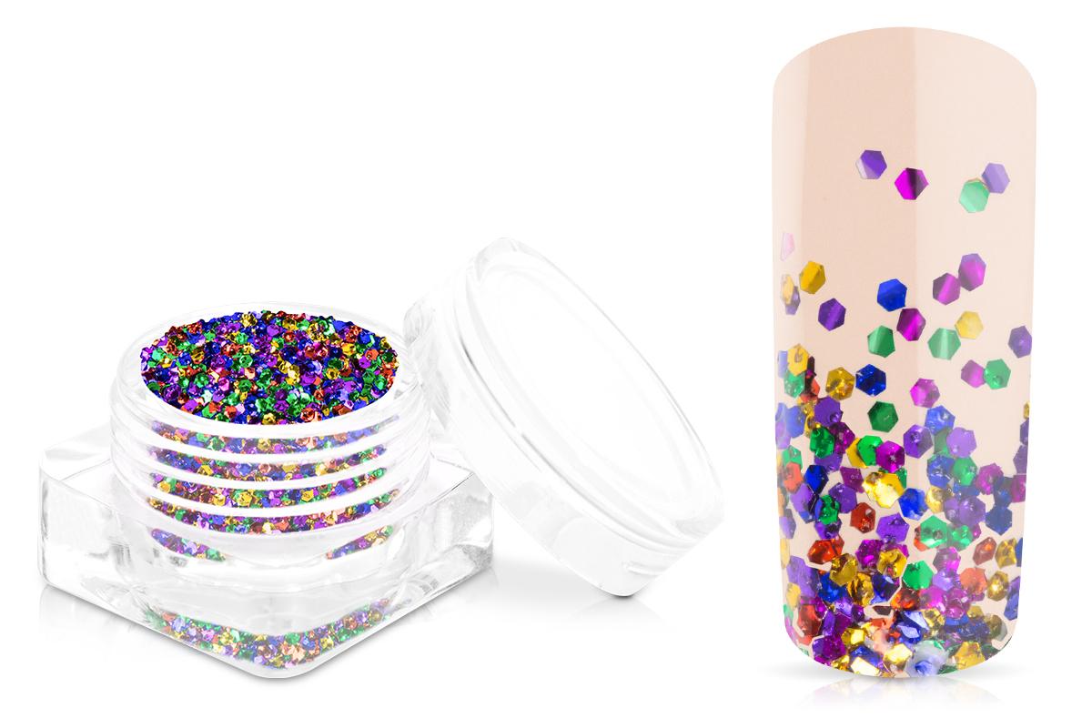 Jolifin Chrome Glitter - confetti party