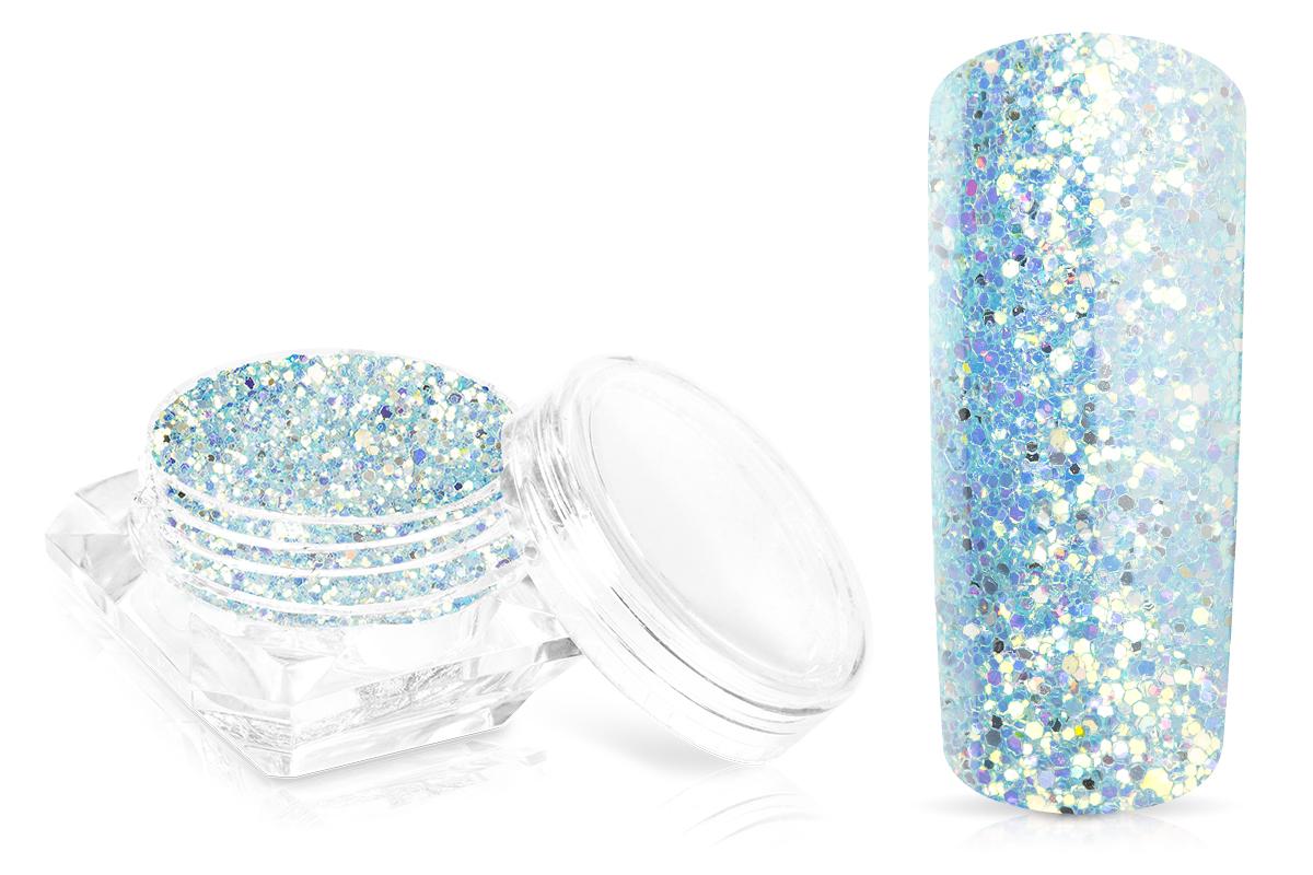 Jolifin Glossy Glitter - ice blue
