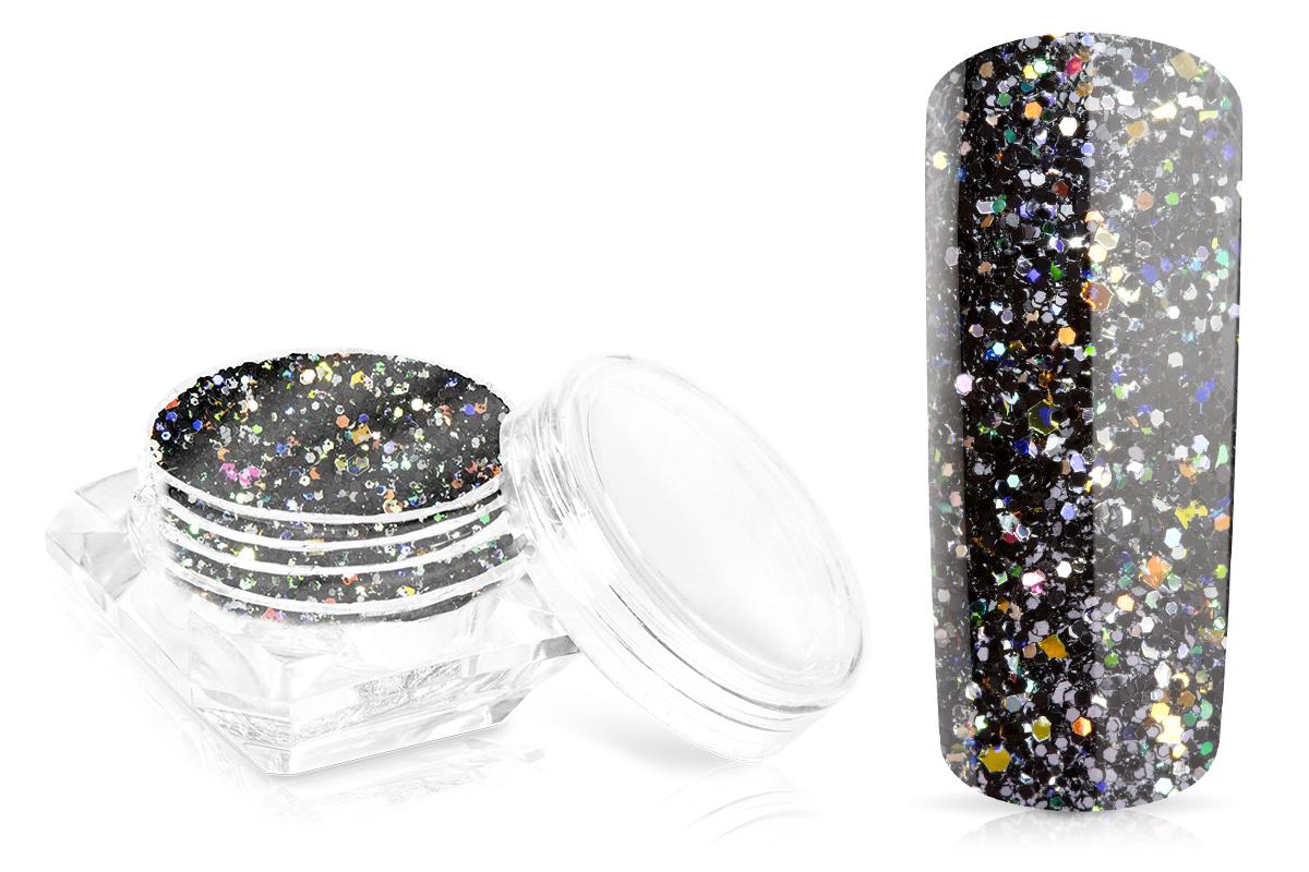 Jolifin Glossy Glitter - black