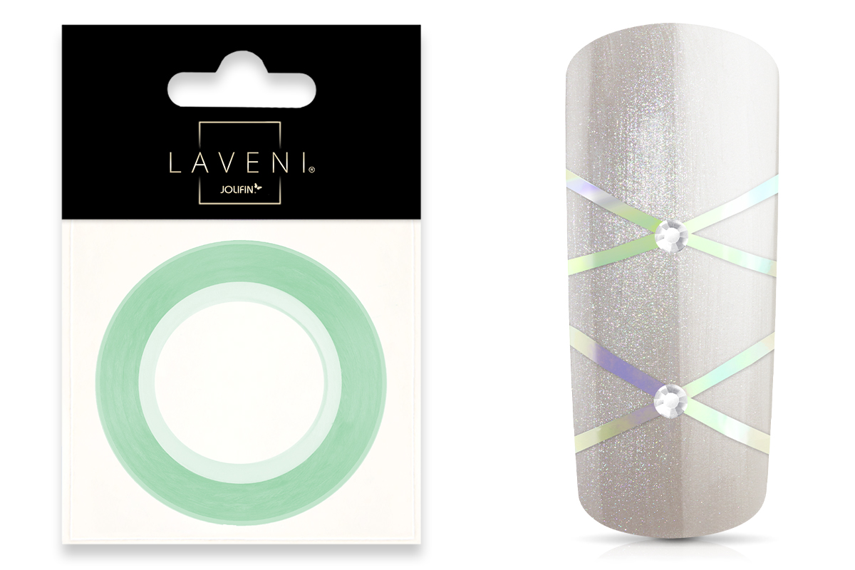 Jolifin LAVENI Pinstripes diamond mint - 1mm