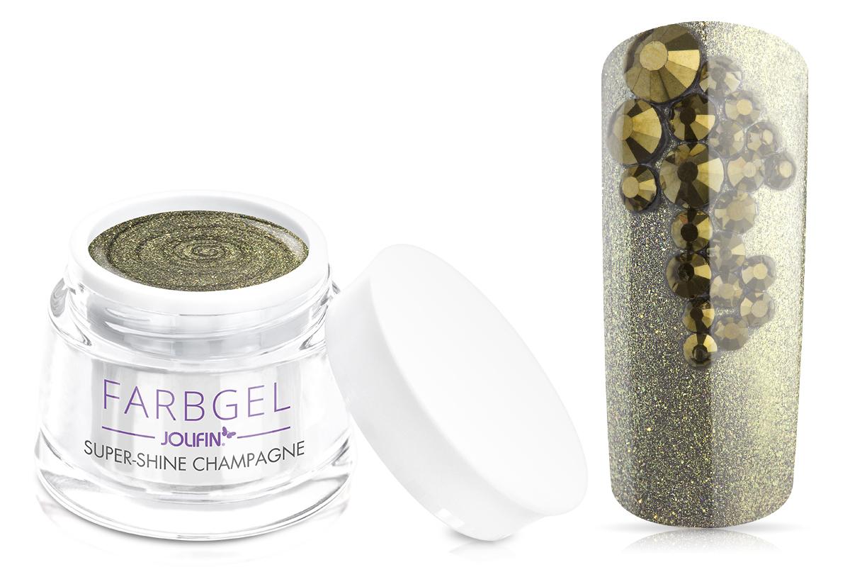 Jolifin Farbgel super-shine champagne 5ml