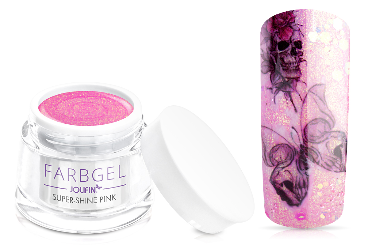 Jolifin Farbgel super-shine pink 5ml