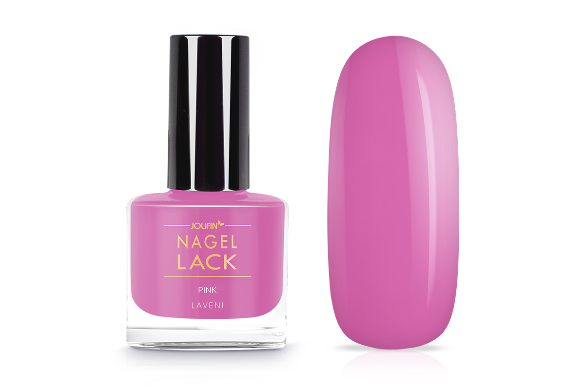 Jolifin LAVENI Nagellack - pink 9ml