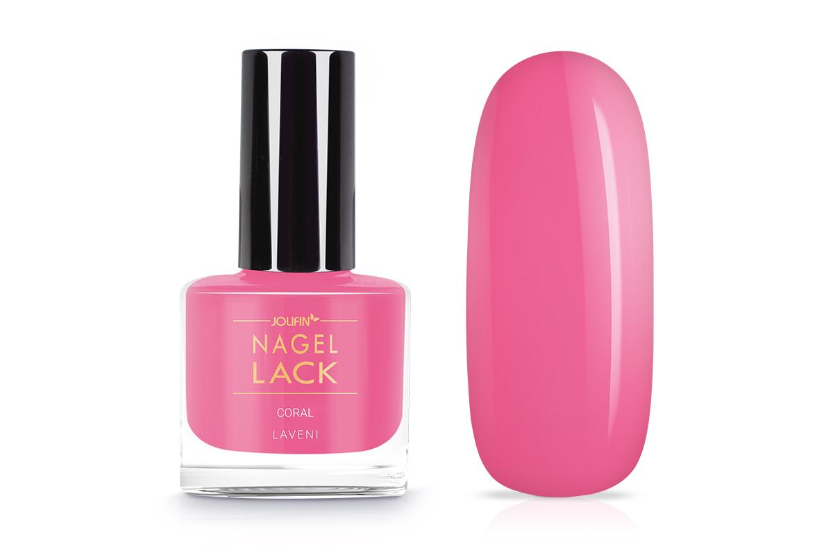 Jolifin LAVENI Nagellack - coral 9ml - Pretty Nail Shop 24