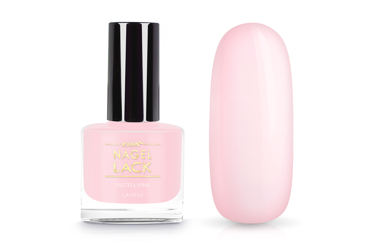 Jolifin LAVENI Nagellack - pastell-pink 9ml - Pretty Nail Shop 24