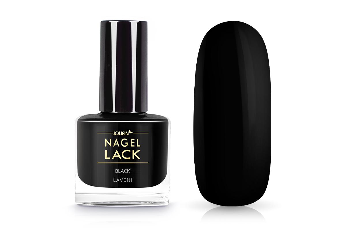 Jolifin LAVENI Nagellack - black 9ml
