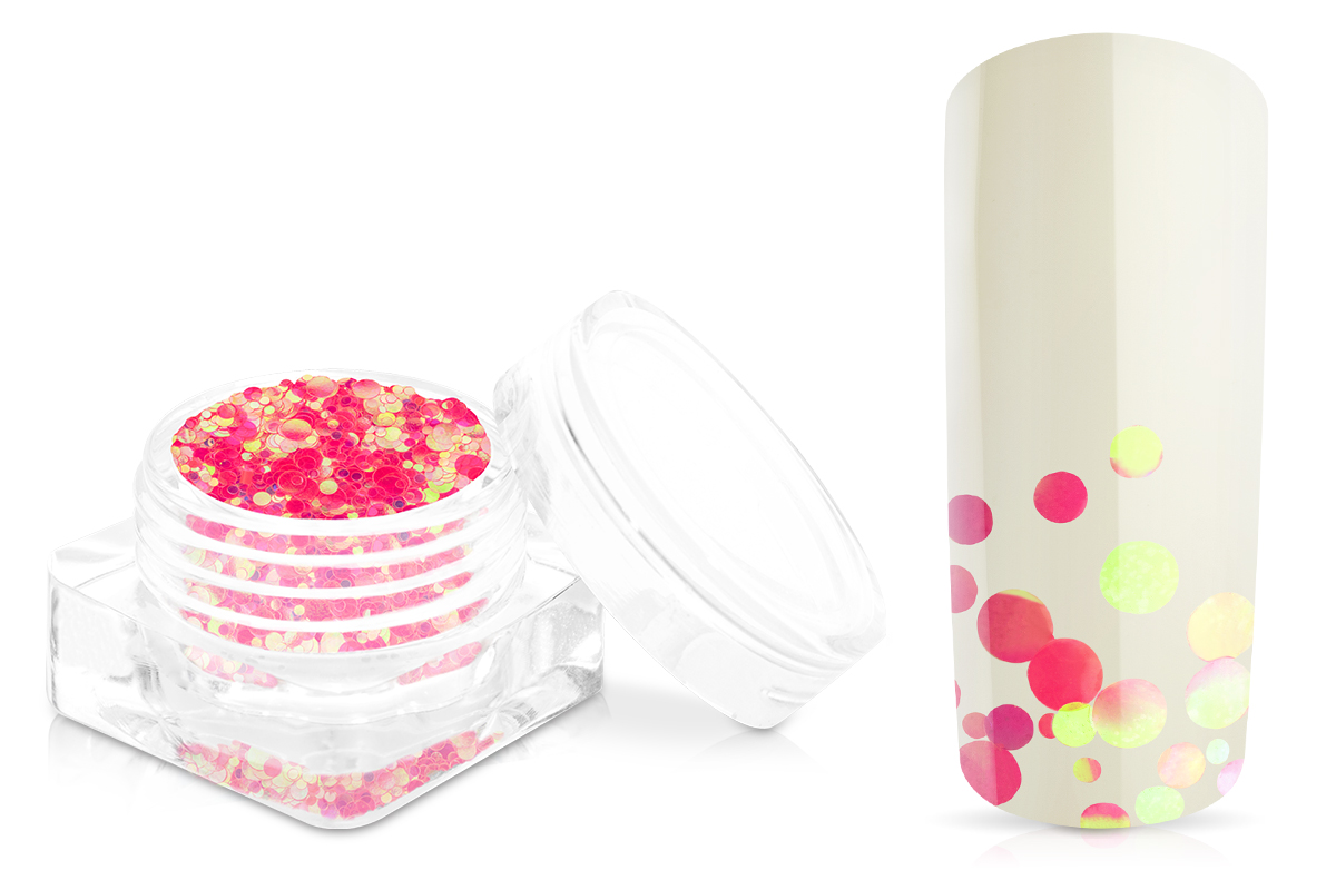 Jolifin Bubble Glitter - pink