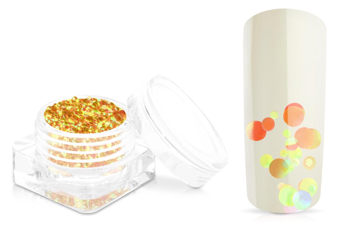 Jolifin Bubble Glitter - melone orange