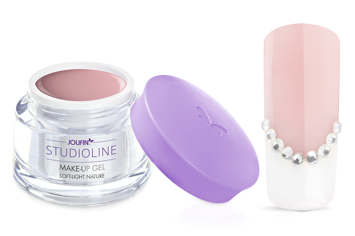 Jolifin Studioline - Make-Up Gel soft light natur 15ml
