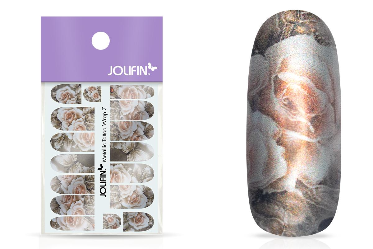 Jolifin Metallic Tattoo Wrap 7