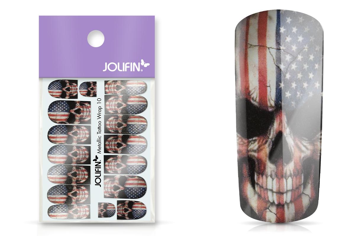 Jolifin Metallic Tattoo Wrap 10