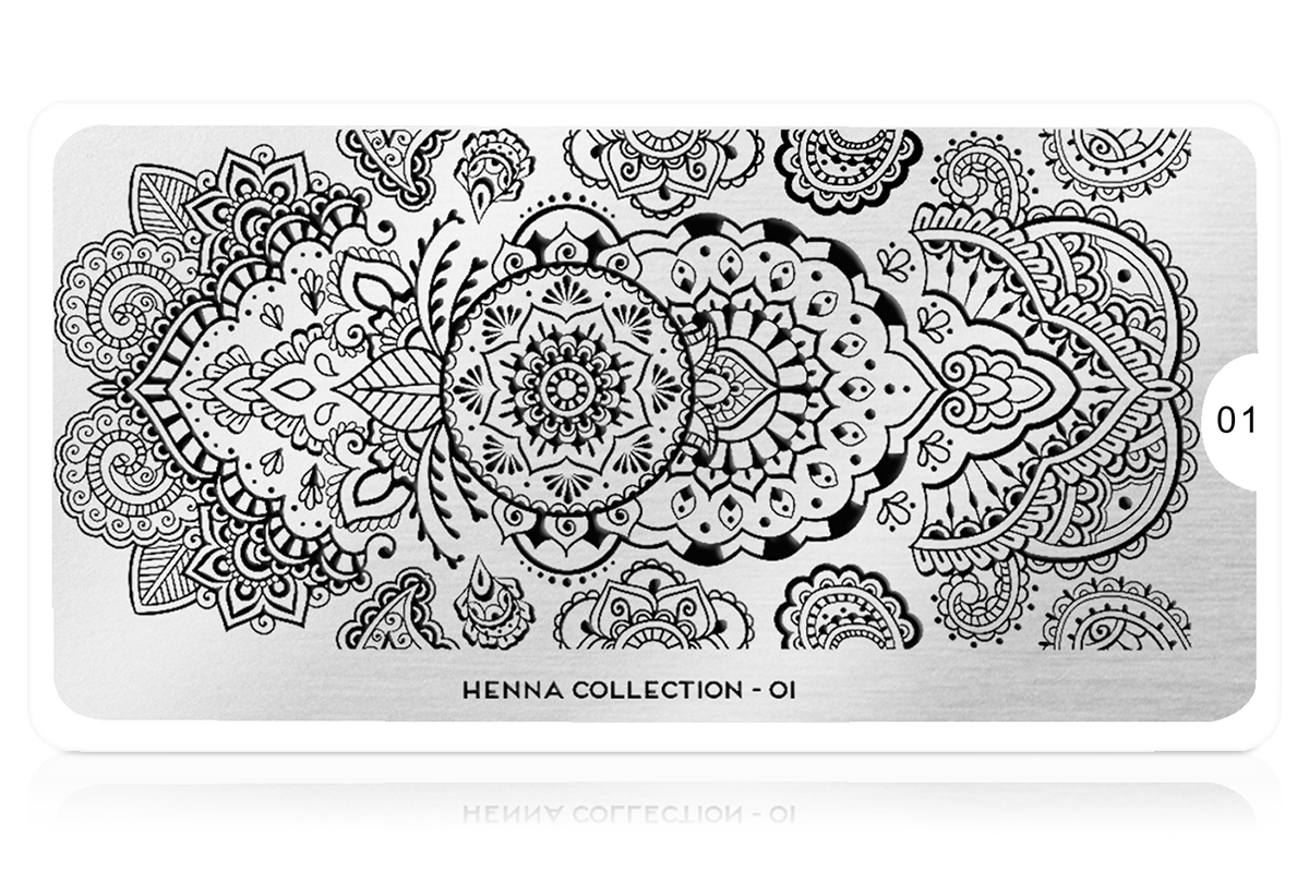 MoYou-London Schablone Henna Collection 01