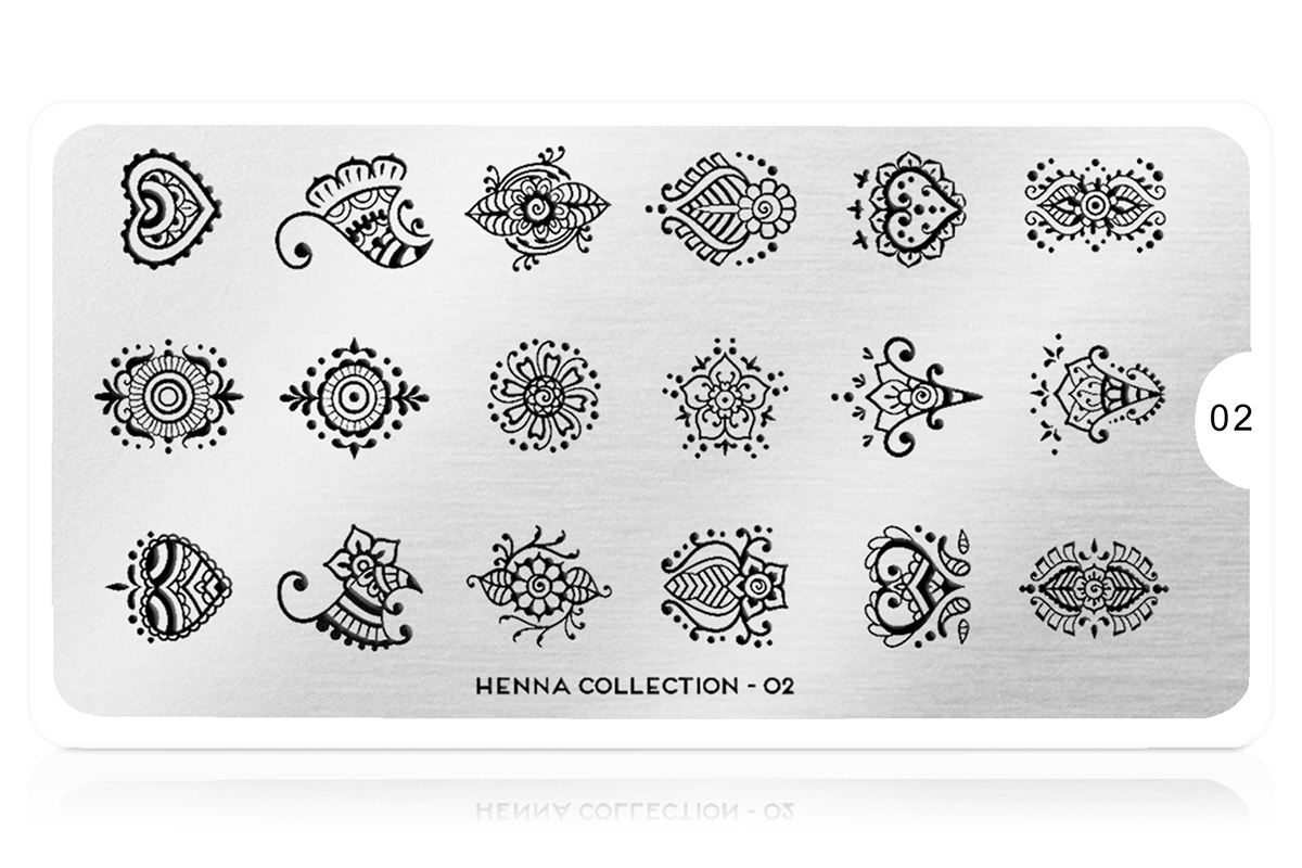 MoYou-London Schablone Henna Collection 02