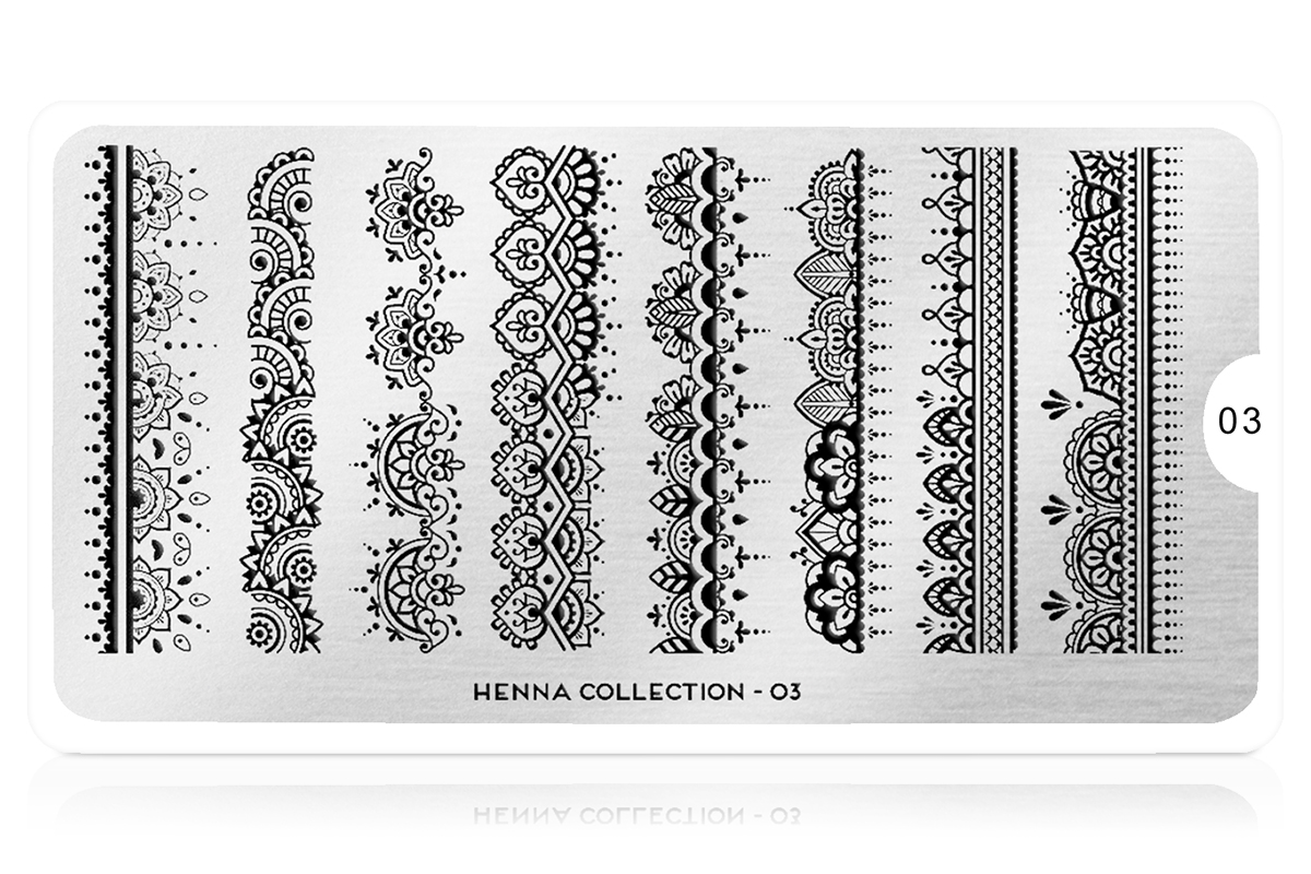 MoYou-London Schablone Henna Collection 03