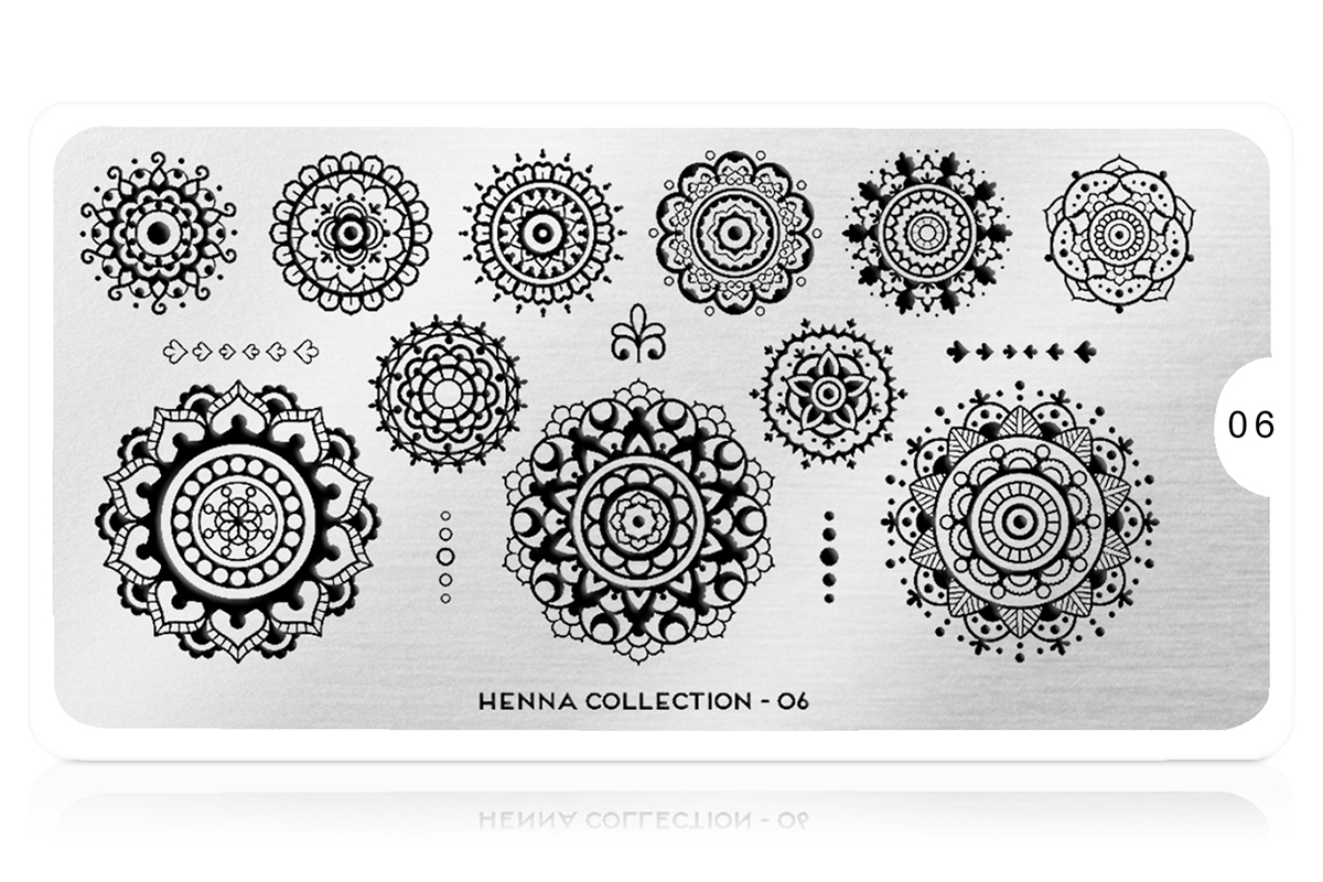 MoYou-London Schablone Henna Collection 06