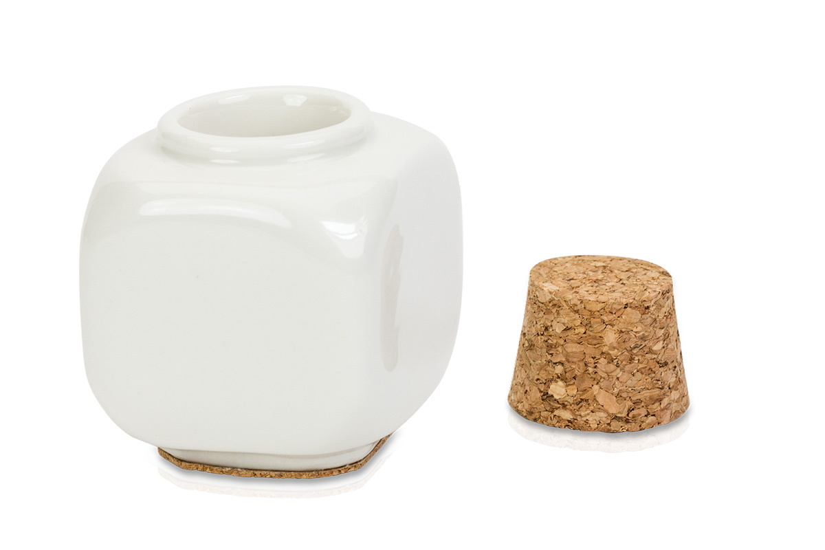 Jolifin Keramikbehälter mit Korken