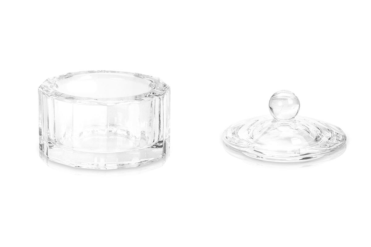 Jolifin Glasbehälter eckig mit Deckel