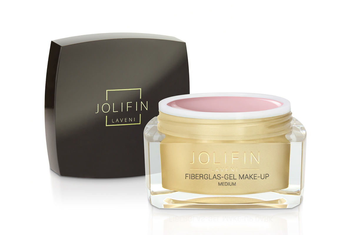 Jolifin LAVENI - Fiberglas-Gel make-up medium 30ml
