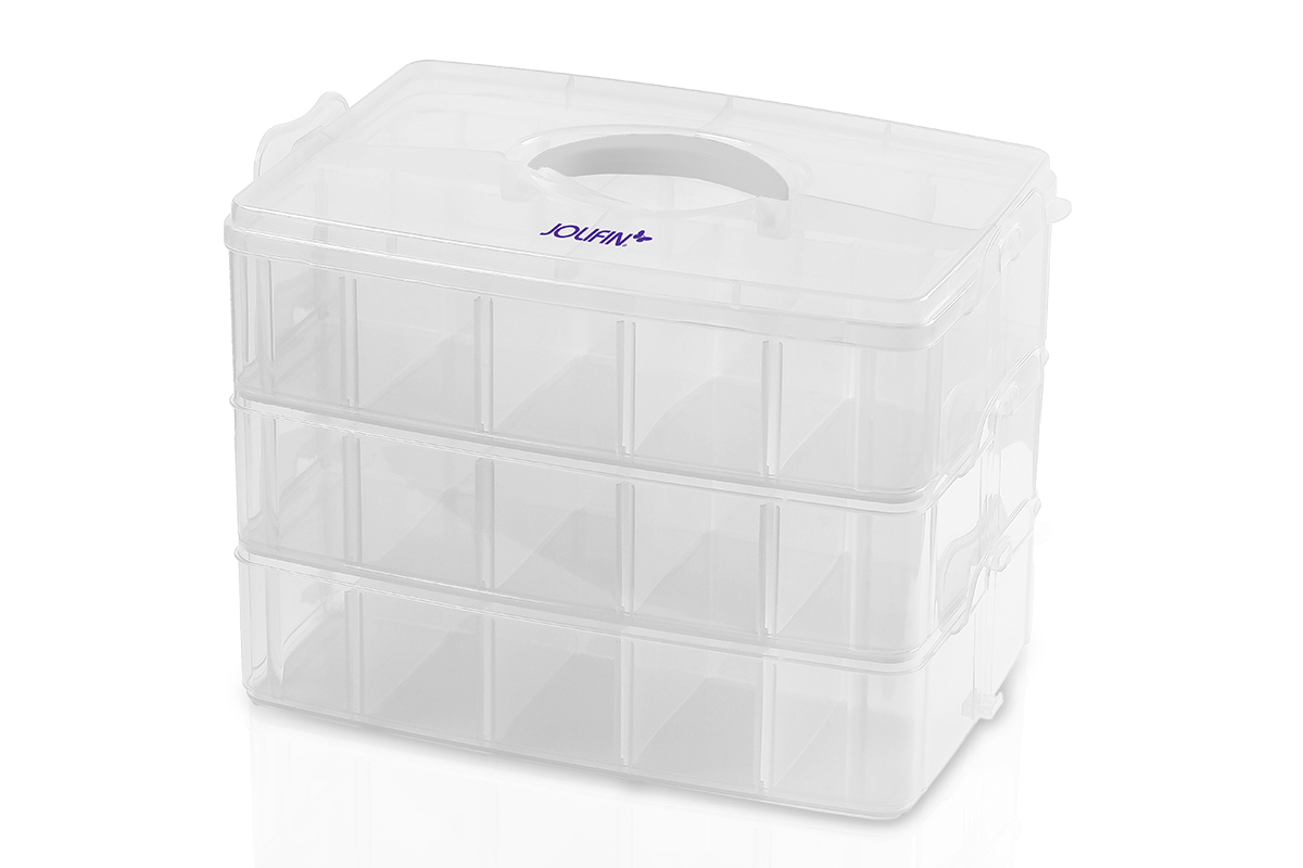 Jolifin Aufbewahrungsbox XL - clear