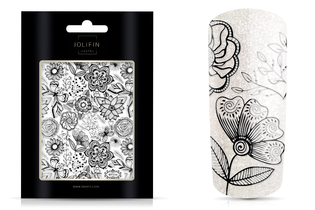 Jolifin LAVENI XL Sticker - Black 6