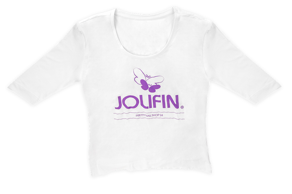 Jolifin Shirt mit 3/4-Arm Gr. L