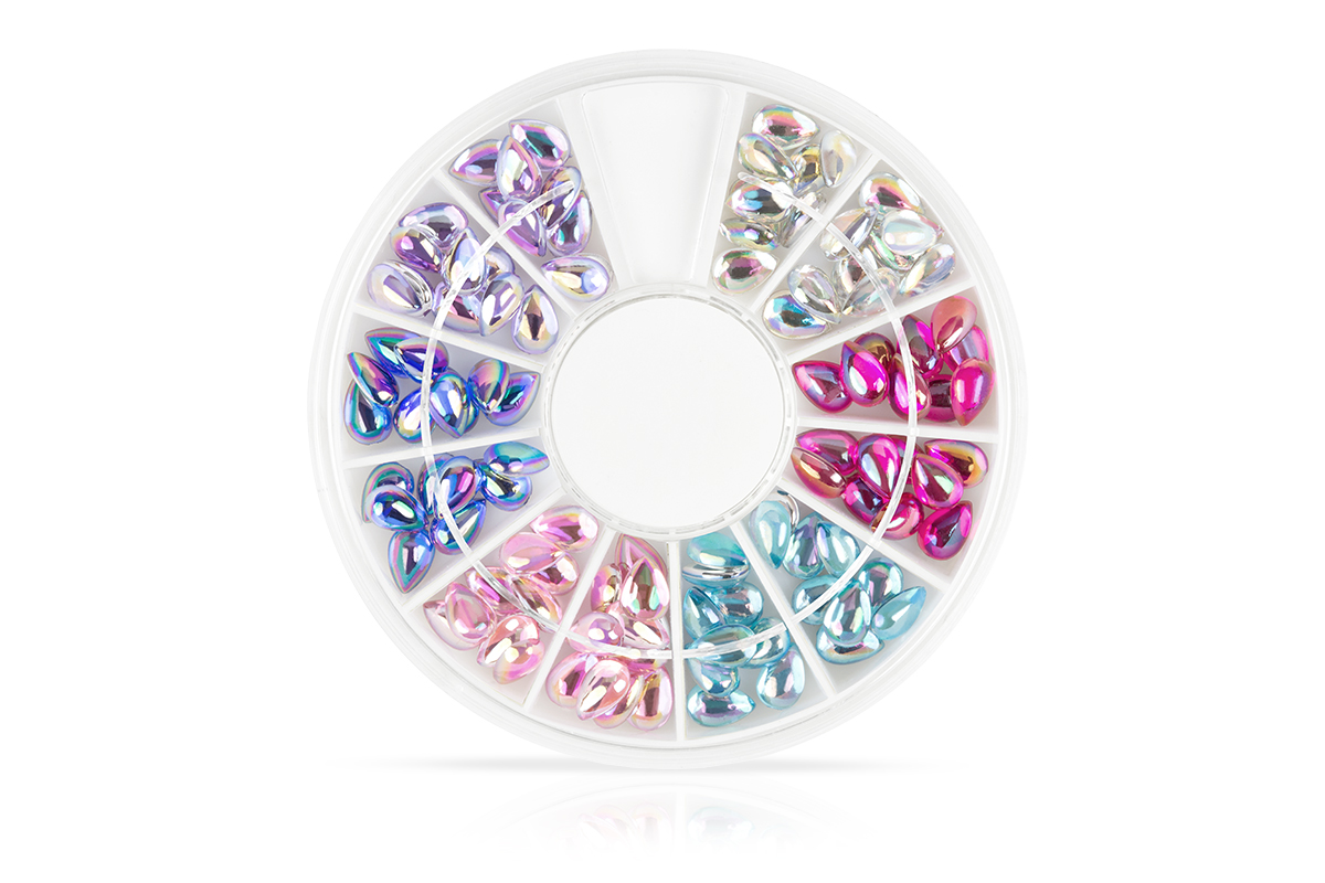 Jolifin Strass-Display - Rainbow Drops