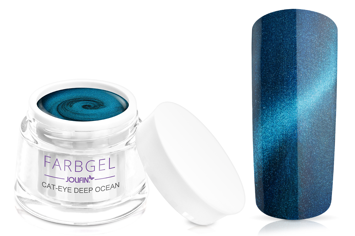 Jolifin Cat-Eye Farbgel deep ocean 5ml