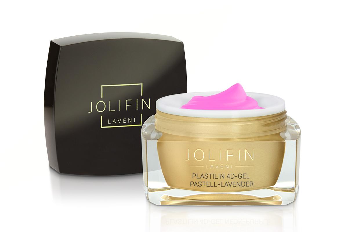 Jolifin LAVENI Plastilin 4D Gel - pastell-lavender 5ml