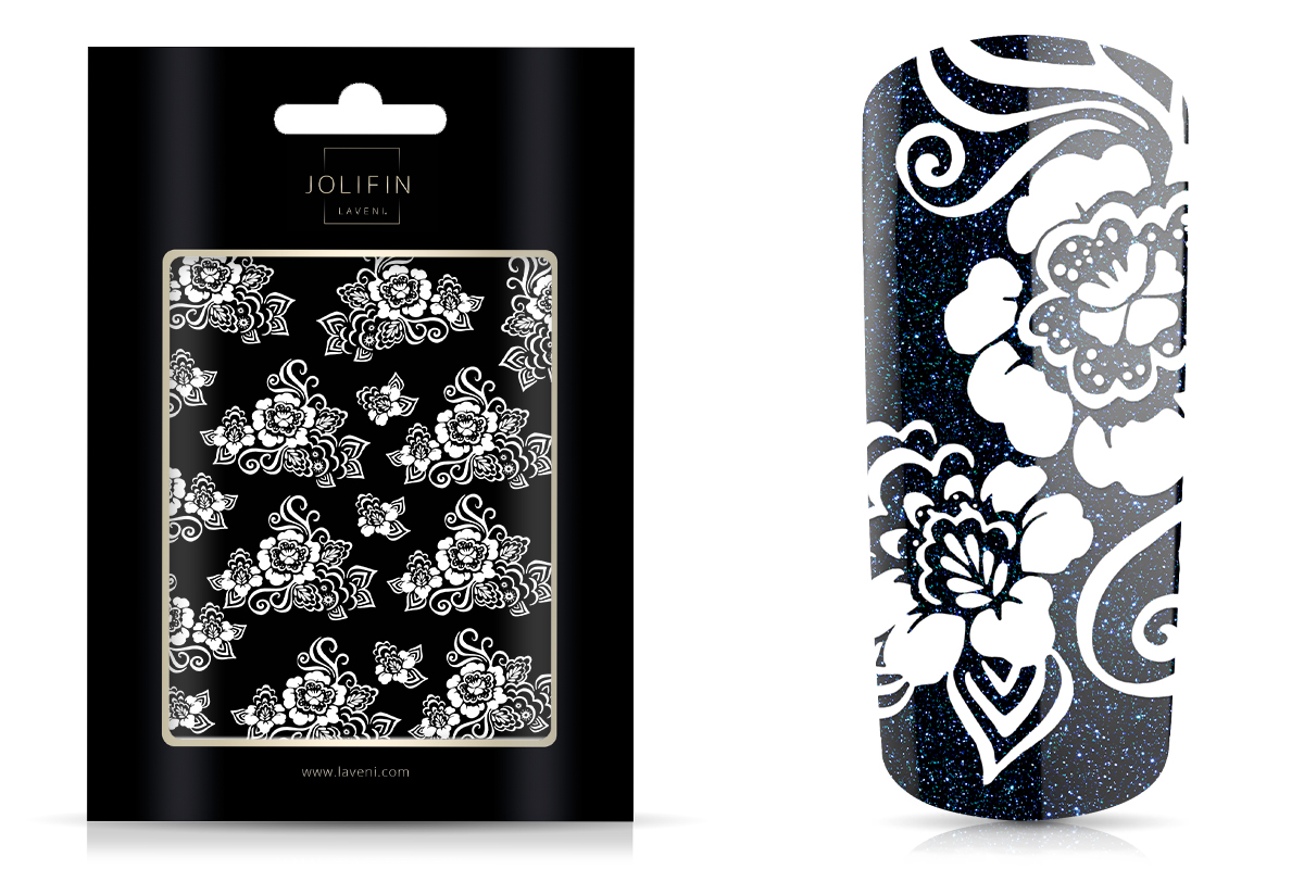 Jolifin LAVENI - XL Sticker white 1