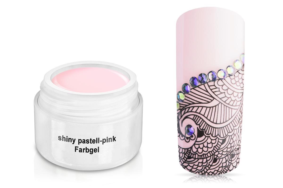 Farbgel shiny pastell-pink 5ml