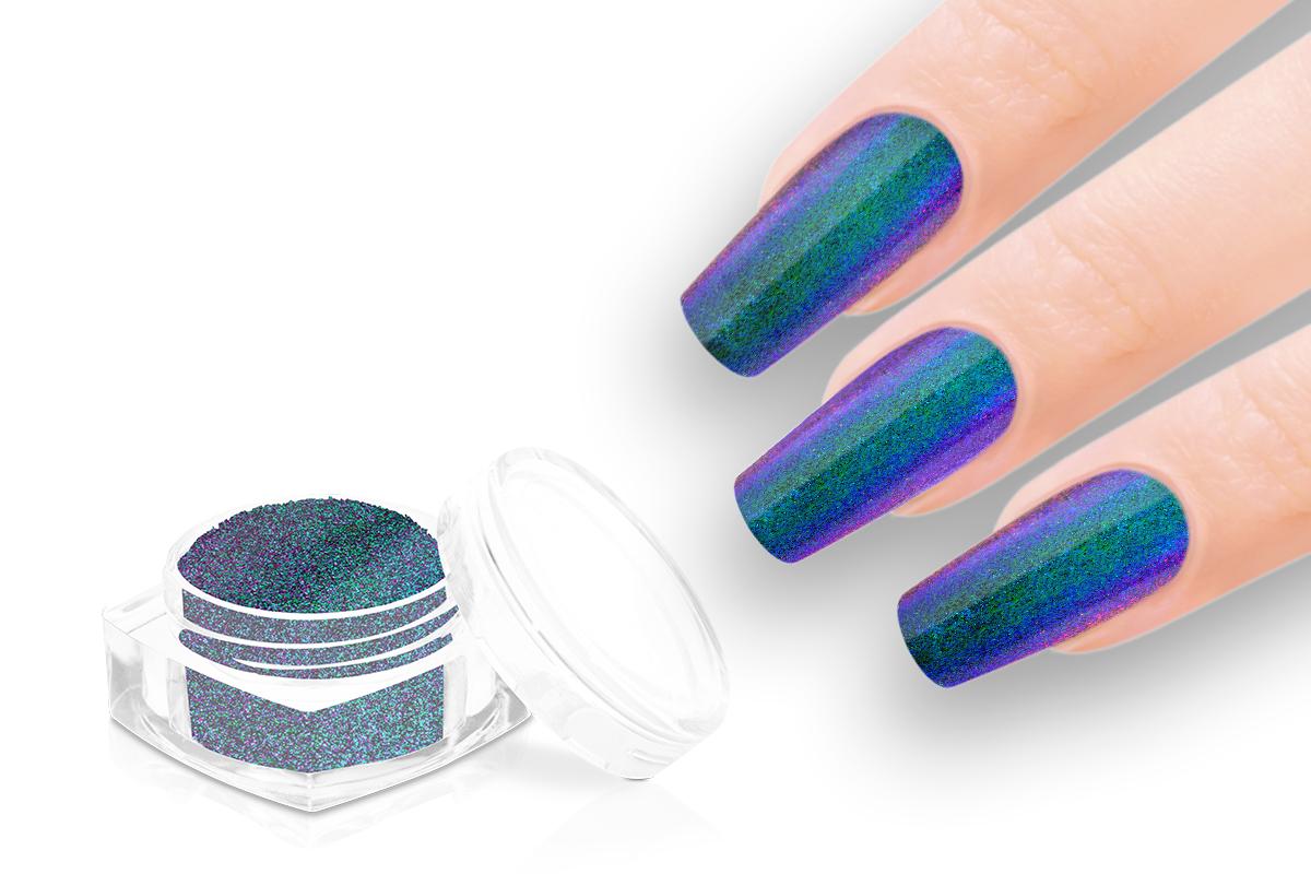 Jolifin Sparkle Pigment - FlipFlop türkis & violet