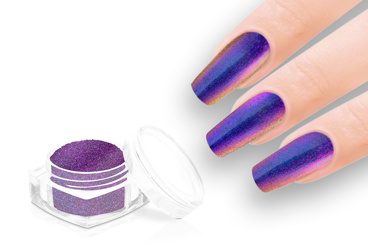 Jolifin Sparkle Pigment - FlipFlop purple & copper