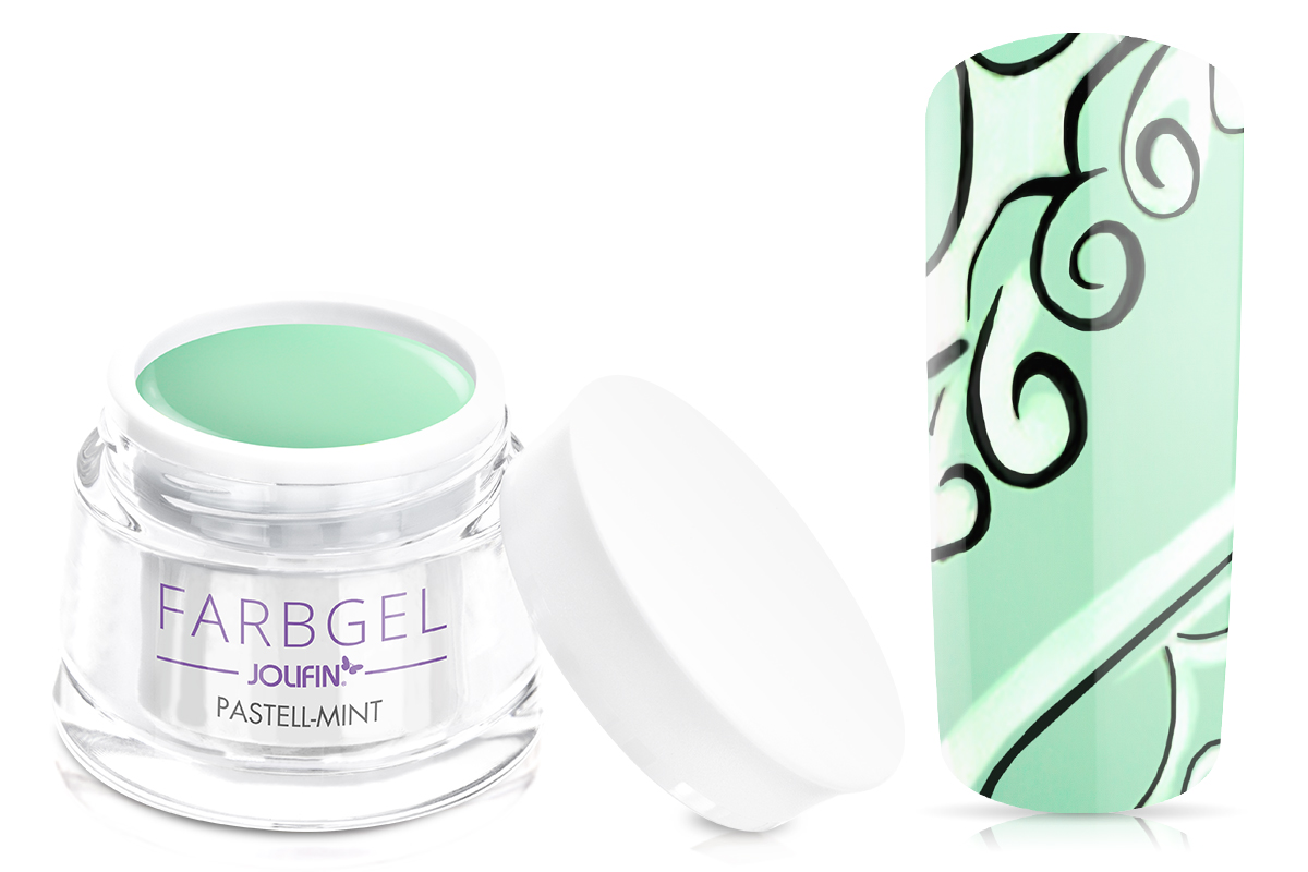 Jolifin Farbgel pastell-mint 5ml