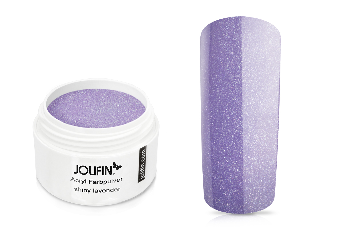 Jolifin Acryl Farbpulver shiny lavender 5g