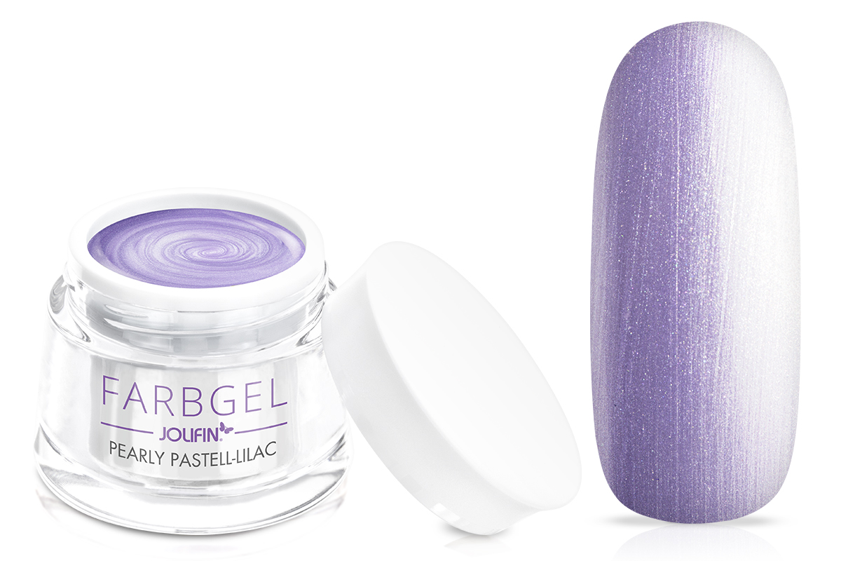 Farbgel pearly pastell-lilac 5ml