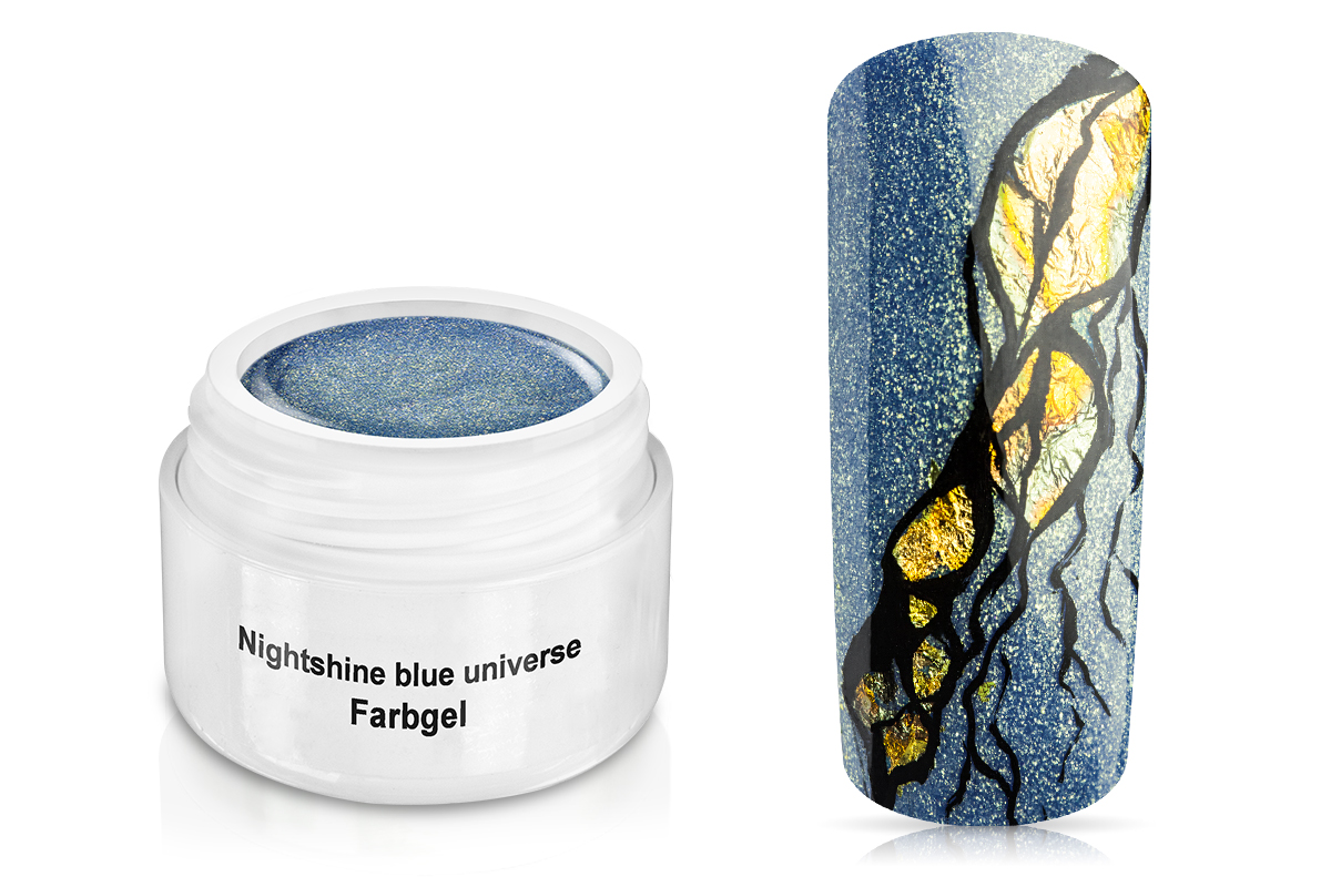 Farbgel Nightshine blue universe 5ml