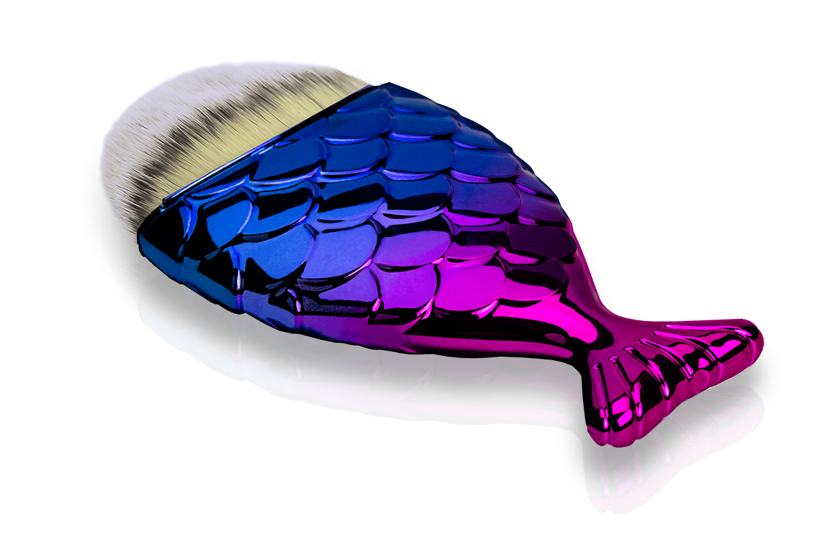 Jolifin Staubpinsel - big mermaid purple-blue