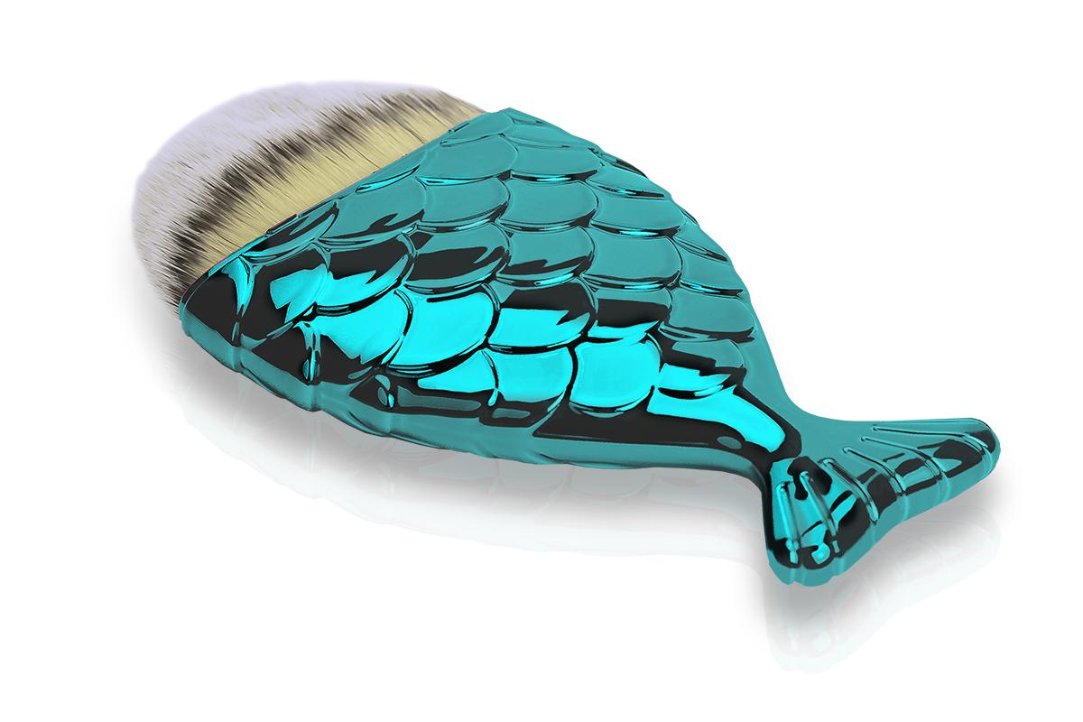 Jolifin Staubpinsel - big mermaid türkis