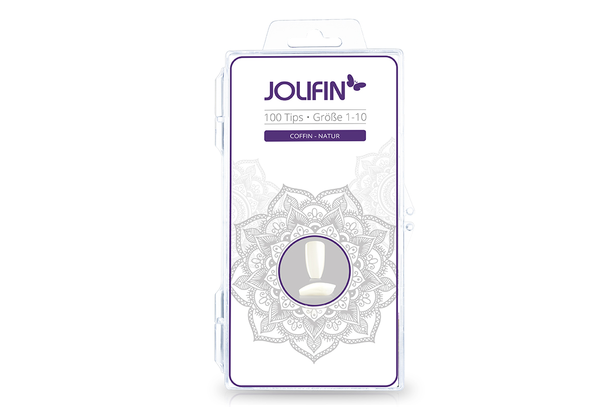 Jolifin 100er Tipbox coffin - natur