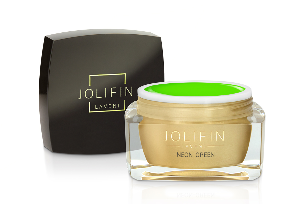 Jolifin LAVENI Farbgel - neon-green 5ml