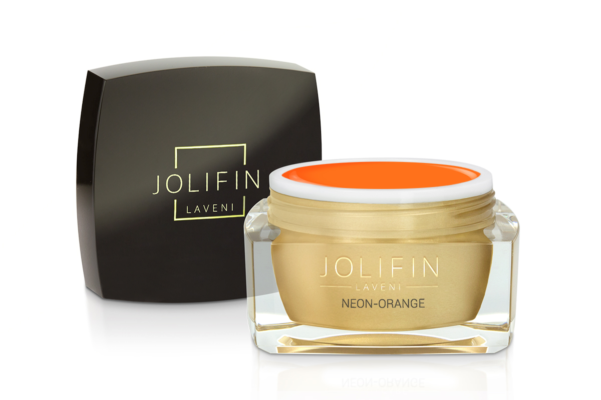 Jolifin LAVENI Farbgel - neon-orange 5ml