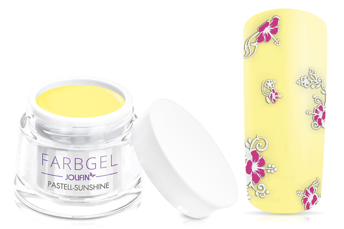 Jolifin Farbgel pastell-sunshine 5ml