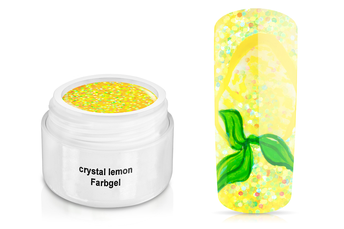 Farbgel crystal lemon 5ml