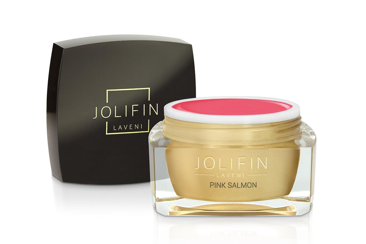 Jolifin LAVENI Farbgel - pink salmon 5ml