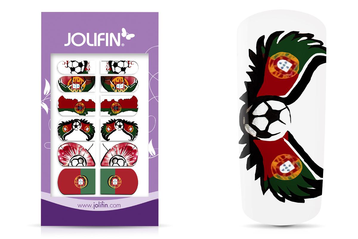 Jolifin Fussball Tattoo Wrap - Portugal