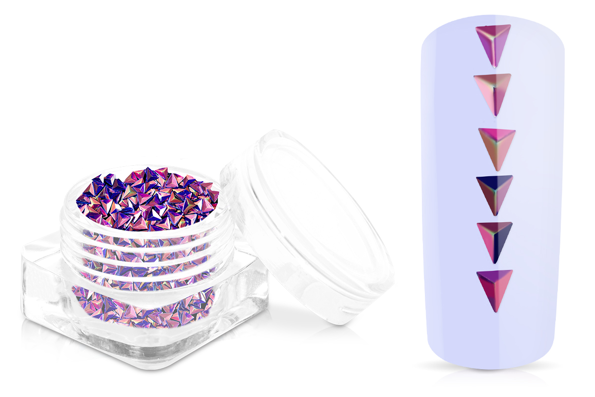 Jolifin Aurora-Einleger - Dreieck purple