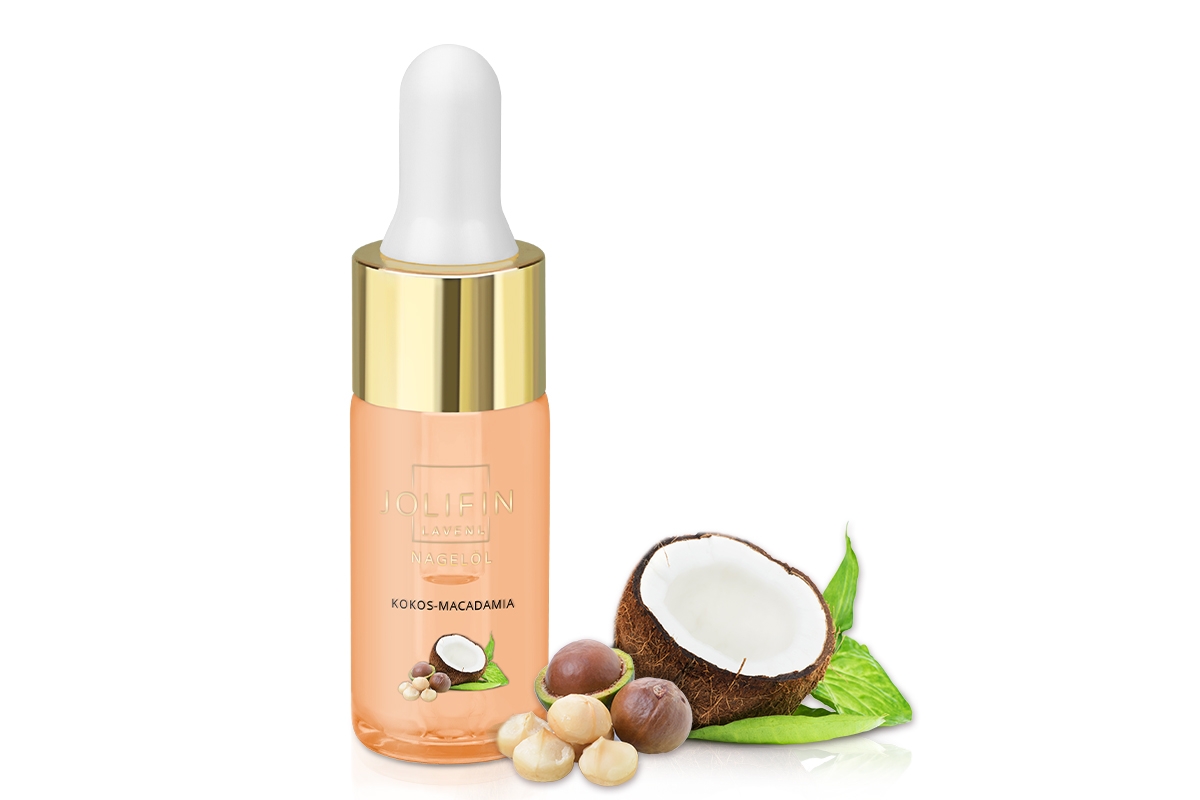 Jolifin LAVENI Nagelöl - Kokos-Macadamia 10ml