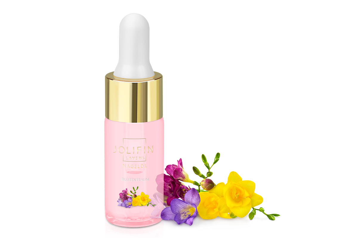 Jolifin LAVENI Nagelöl - Blütentraum 10ml
