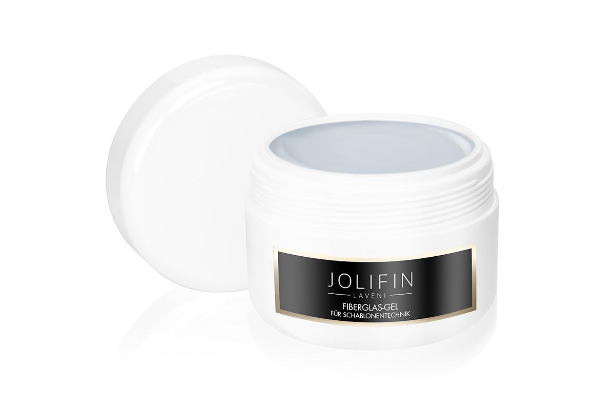 Jolifin LAVENI Refill - Fiberglas-Gel für Schablonentechnik 250ml
